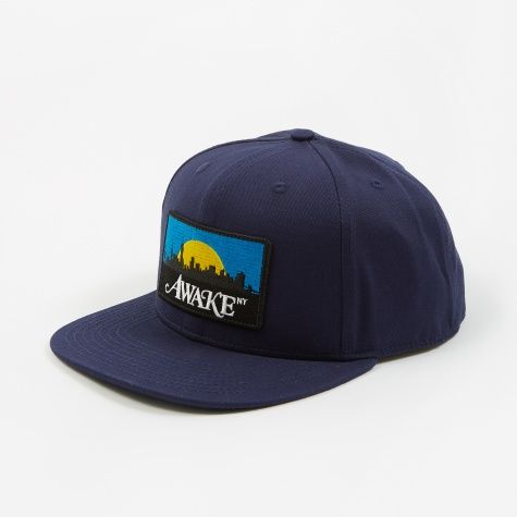 Skyline Patch Hat - Navy