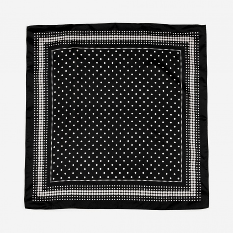 Silk Bandana - Black