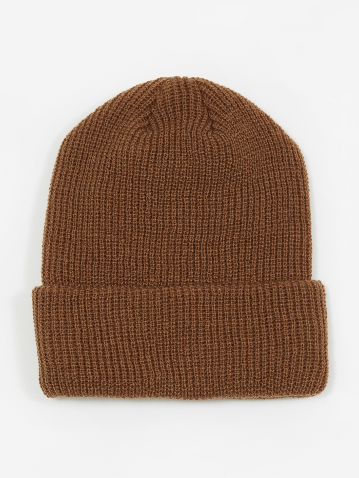 Unused Beanie Hat - Camel (Image 1)