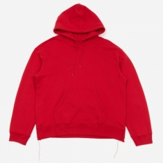 Unused Hooded Sweatshirt - Red