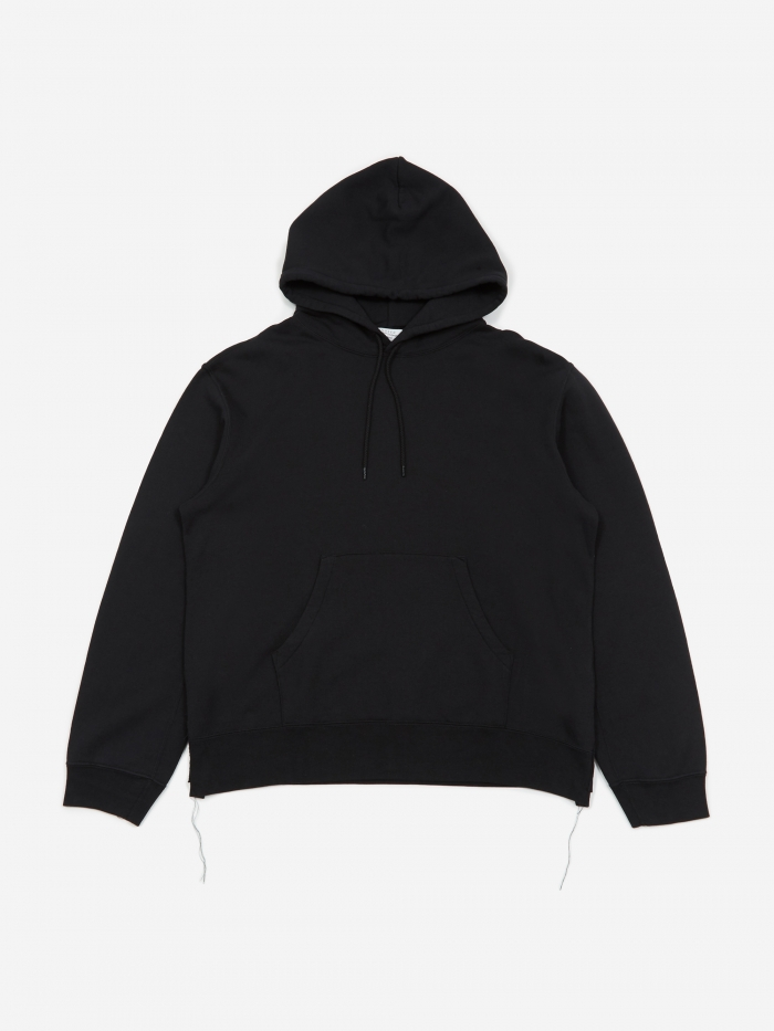 Unused Hooded Sweatshirt - Black (Image 1)