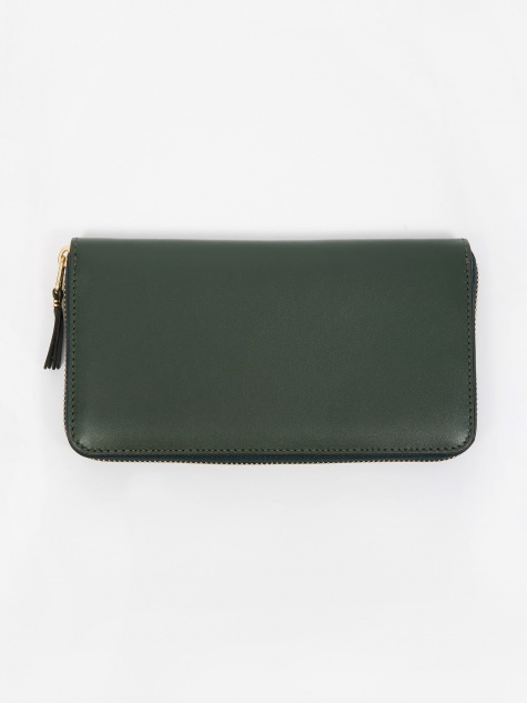 Comme des Garcons Wallet Classic Leather (SA0111) - Bottle Green