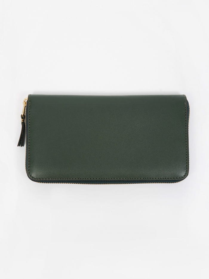 Comme des Garcons Wallets Comme des Garcons Wallet Classic Leather (SA0111) - Bottle Green (Image 1)