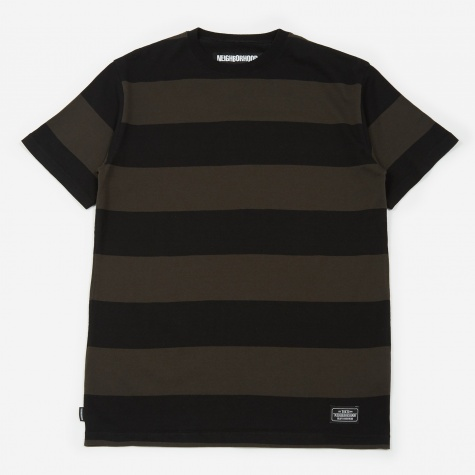 B.D./C-Crew Short Sleeve T-Shirt - Black