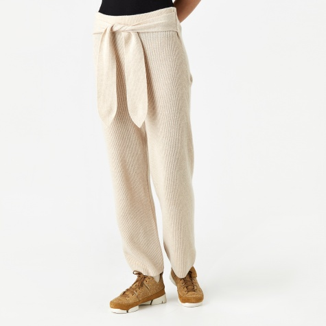 Tigre Wide Trouser - Ivory