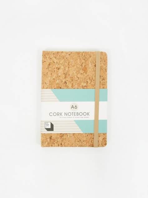 Cork Notebook - A6