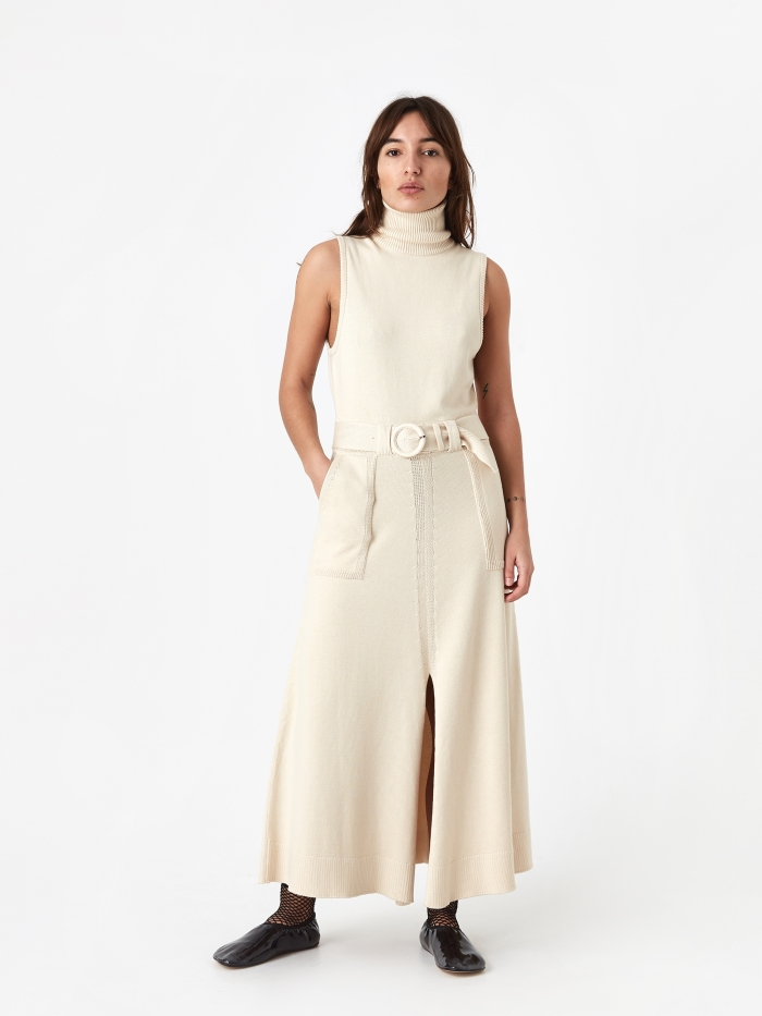 Mara Hoffman Elle Dress - Cream (Image 1)