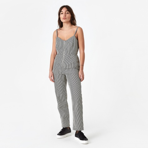 Beatriz Jumpsuit - Black/Cream