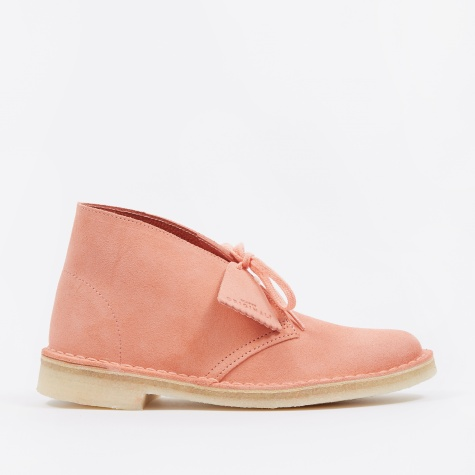 Clarks Desert Boot - Coral Suede