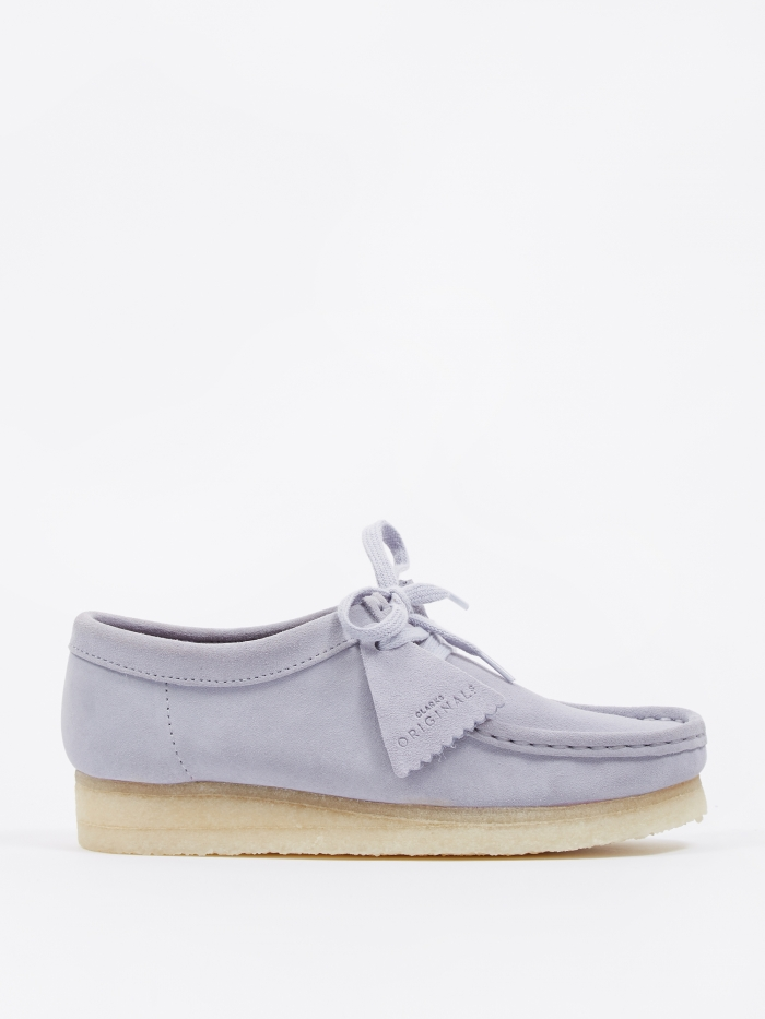 Clarks Originals Clarks Wallabee - Cool Blue (Image 1)