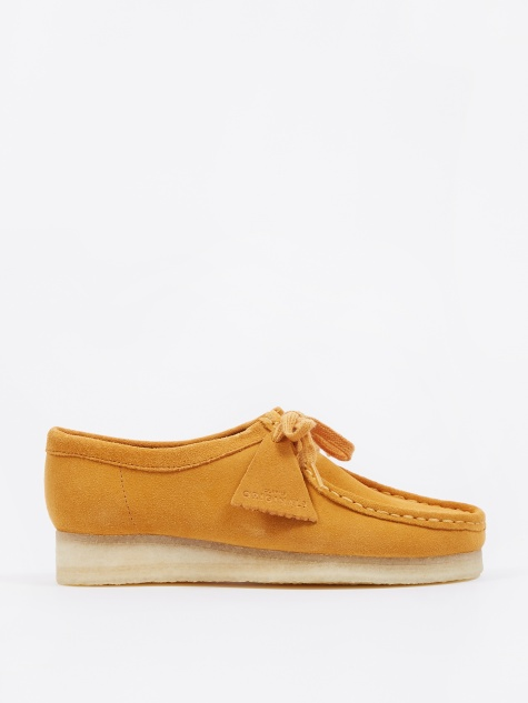 Clarks Wallabee - Turmeric Yellow Suede
