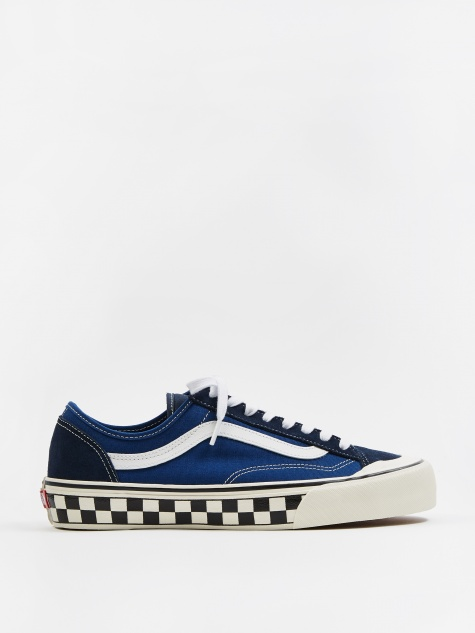 Style 36 Deacon SF - (Checkerboard) True Blue/Marshmallow