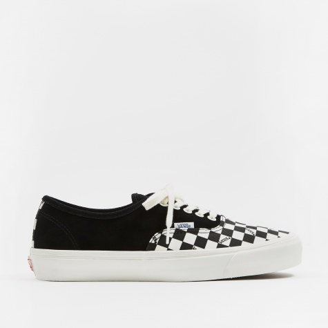 Vault OG Authentic LX - (Suede/Canvas) Black/Checkerboard