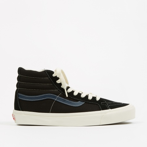 Vault OG SK8-Hi LX - (Suede/Canvas) Black/Dress Blue