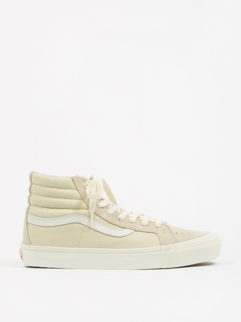 Vault OG SK8-Hi LX - (Suede/Canvas) Seed Pearl/Marshmallow