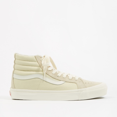 OG SK8-Hi LX - (Suede/Canvas) Seed Pearl/Marshmallow