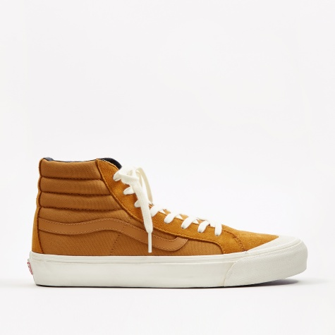 Vault OG Style 138 LX - (Suede/Canvas) Buckthorn Brown/Chec