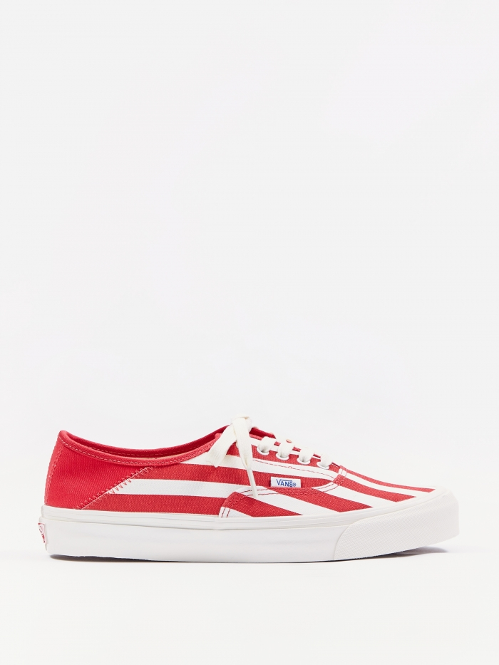 Vans OG Style 43 LX - (Canvas) Racing Red (Image 1)