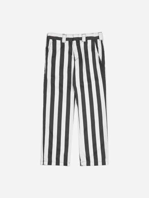 WP873 Wide Stripe Work Trouser - CG Charcoal