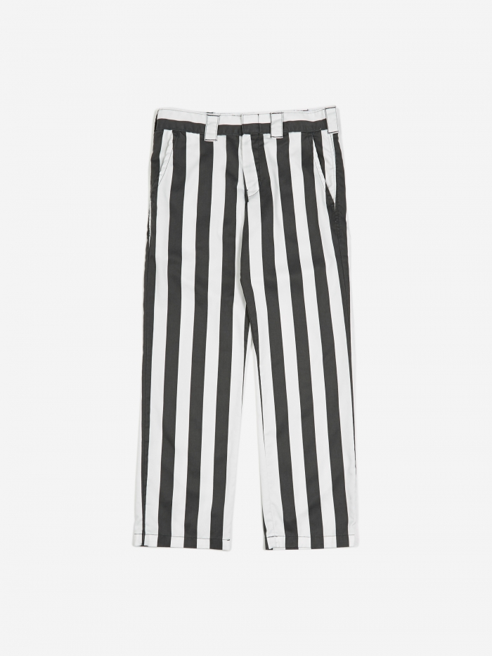 Dickies Wide Stripe Work Trouser - CG Charcoal (Image 1)