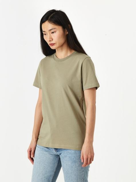 Gro Standard Cotton T-Shirt - Washed Kelp