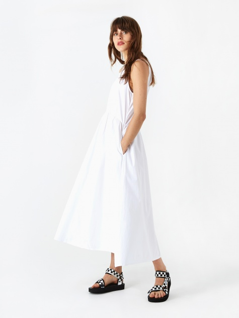 Tora Summer Dress - White