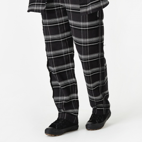 Check Trouser - Black/Pink