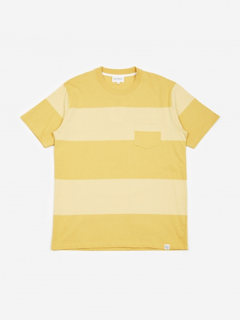 27dceac0c5d Johannes Block Stripe T-Shirt - Sunwashed Yellow