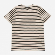 Norse Projects Godtfred Classic Compact Stripe T-Shirt - Red