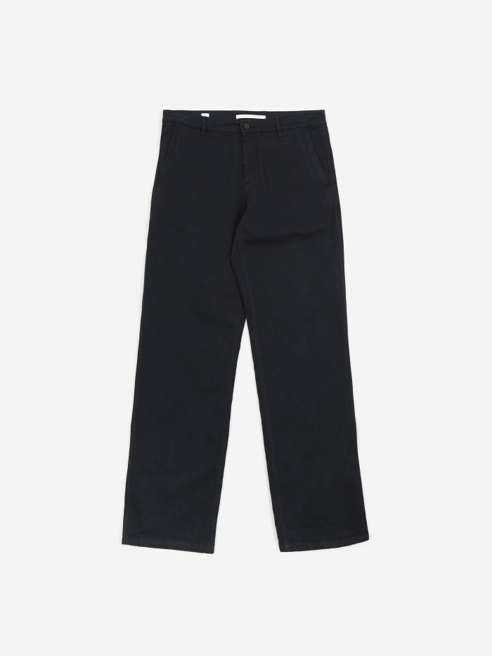 Norse Projects Josef Organic Twill Trouser - Dark Navy (Image 1)