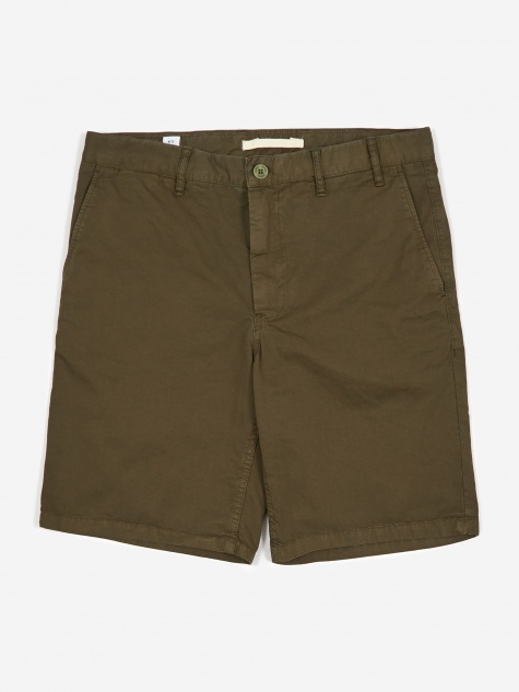 Aros Light Twill Short - Ivy Green