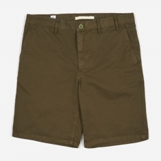 Norse Projects Aros Light Twill Short - Ivy Green