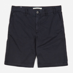 Norse Projects Aros Light Twill Short - Dark Navy