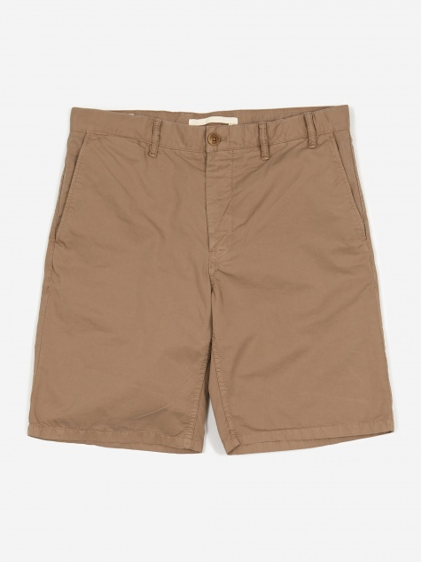 Aros Light Twill Short - Utility Khaki