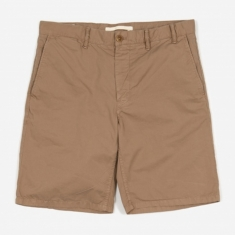Norse Projects Aros Light Twill Short - Utility Khaki