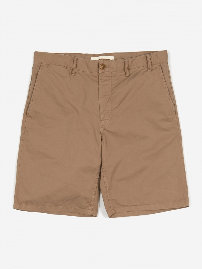 Norse Projects Aros Light Twill Short - Utility Khaki (Image 1)