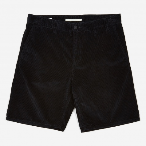 Aros Corduroy Short - Dark Navy