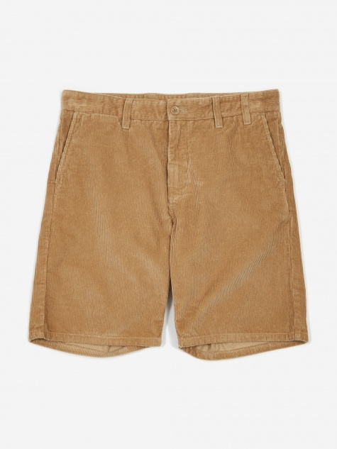 Aros Corduroy Short - Tan