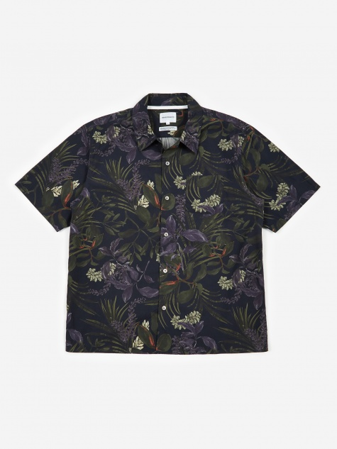 Carsten Short Sleeve Shirt - Dark Navy
