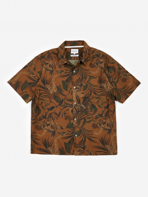 Carsten Short Sleeve Shirt - Russet