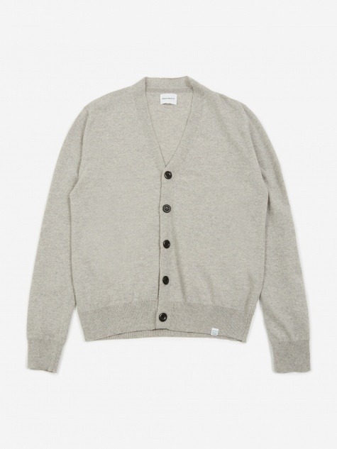 2d8d2f4ef14 Adam Light Wool Cardigan - Light Grey Melange