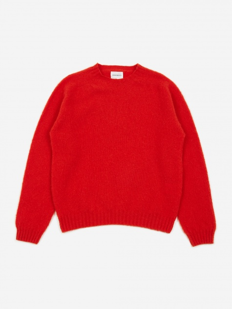 b2c74526710 Birnir Brushed Lambswool Sweater - Askja Red. Norse ProjectsBirnir Brushed  Lambswool ...