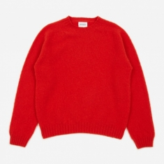 Norse Projects Birnir Brushed Lambswool Sweater - Askja Red