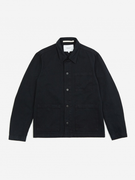 Tyge Shirt Jacket - Dark Navy
