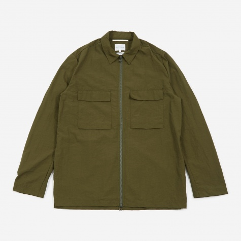 Jens Zip Jacket - Ivy Green