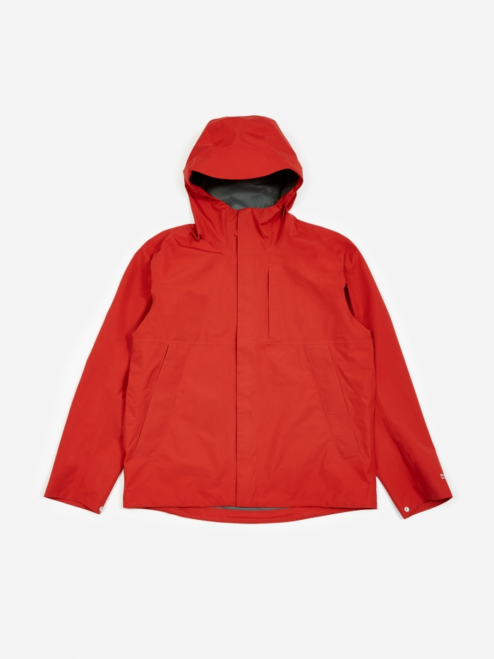 Norse Projects Fyn Shell Gore-Tex Coat - Askja Red (Image 1)