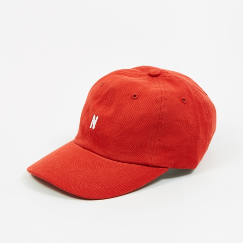 Twill Sports Cap - Askja Red