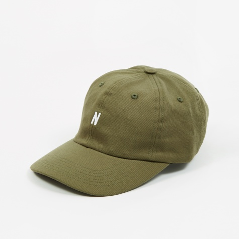 Twill Sports Cap - Ivy Green