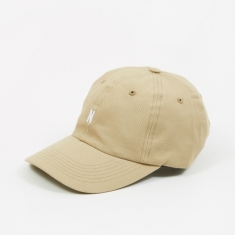 Norse Projects Twill Sports Cap - Utility Khaki