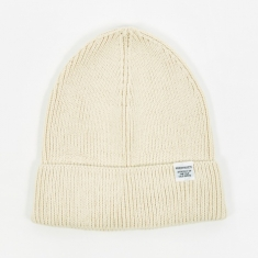 Norse Projects Cotton Watch Beanie - Ecru